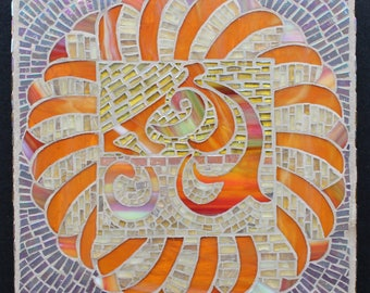 Mosaic Art, mosaic panel,