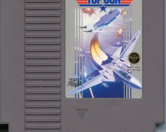 Nintendo NES Top Gun Video Game Cartridge Konami