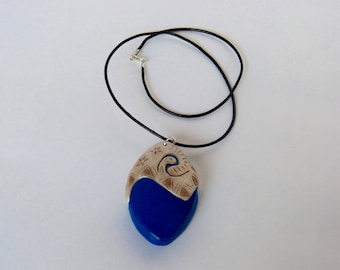 Thomas and heart necklace of Te be removable, Thomas/Moana theme