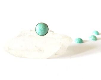 Green Aventurine Gemstone Ring