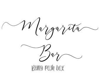 Margarita Bar Sign (Horizontal)