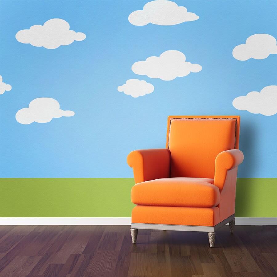 Wolke-Wand-Schablonen für Kinderzimmer oder Kinderzimmer
