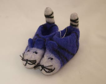 HandFelted BABY SLIPPERS