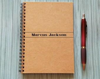 Personalized Notebook, [Custom Name] - 5 x 7 Journal, Diary Journal, Notebook, Gift, Niagara