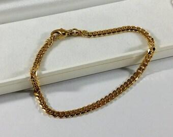 Armor Bracelet Vintage Gold 333 GA118