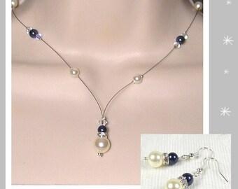 Ornament wedding Swarovski Collection Glamour necklace 2 - wedding ceremony Kelly ♥ ♥