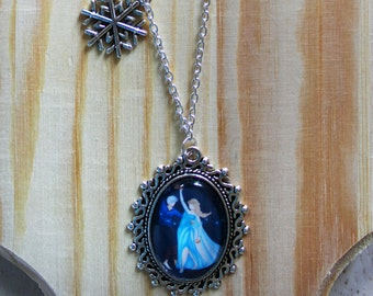 Necklace frosted dance (Jelsa)