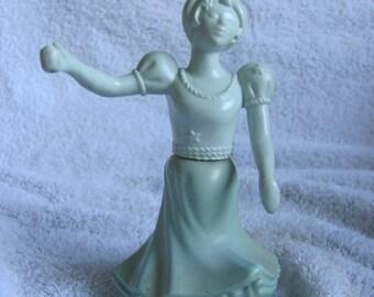 Avon Bottle Decanter Girl Blue Dress (37)