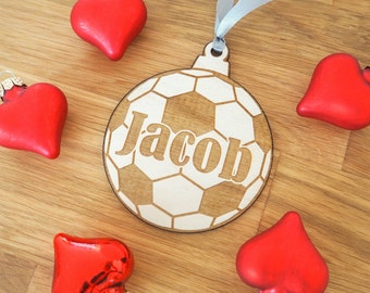 Football Gift - Soccer Gift - Coach Gift - Trainer Gift - Sports Gift - Personalized Football - Soccer Coach Gift - Soccer Gifts - Ornament