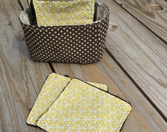 Washable & reusable wipes