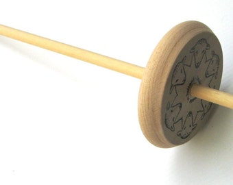 Louet Drop Spindle: Top Whorl Wood Spindle, Great for Beginning Spinners