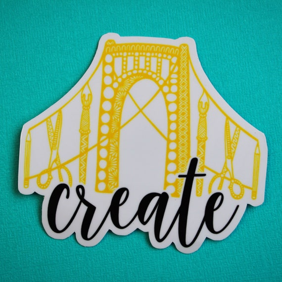 Create Pittsburgh Sticker
