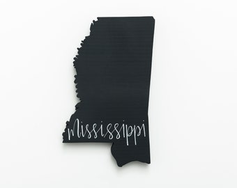 MS | Mississippi Wood Wall Art