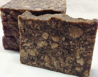 Raw African Black Soap- 8oz