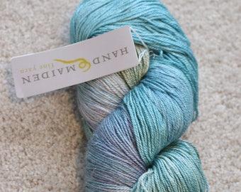 Handmaiden Fine Yarn Sea Sock, Blue