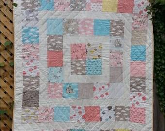 Ílinn's Fairytale - Crib Quilt Pattern - Charm Pack Quilt Pattern