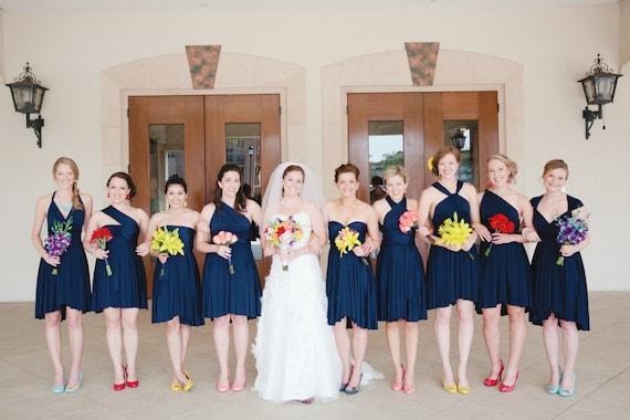 Dresses Bridesmaid Short Navy