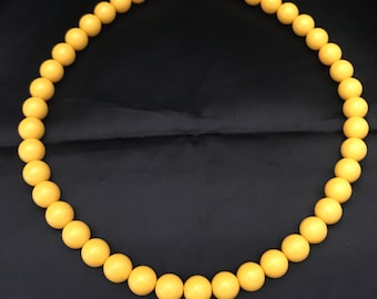 Vintage Lucite Beaded Choker Necklace Three Retro,Mod Different Color-Necklace The Price Is Per Each One