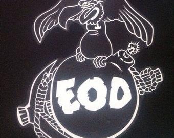 Marine EOD vinyl