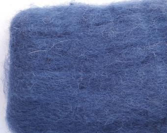 Merino Wool Roving - Denim - 1 oz