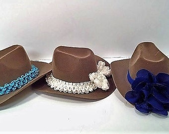 Brown Dolly Cowboy Hats for the American Girl Doll