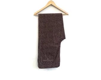 Vintage  pants / Mens vintage trousers / Mens BRIONI  pants / Mens cotton designer trousers