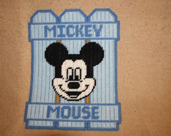 Mickey fence wall hanging