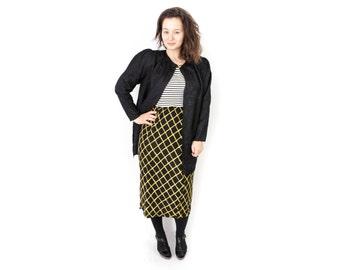Black Duster jacket, Floral Duster, Black long duster, Long sleeve duster, Light jacket, Festival jacket, maxi cardigan, 80s jacket / Medium