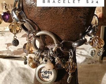 Gypsy Soul Charm Bracelet