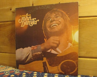 John Denver - An Evening With John Denver - 33 1/3 Vinyl Record