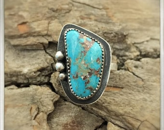 Choose your stone - Kingman Turquoise Ring