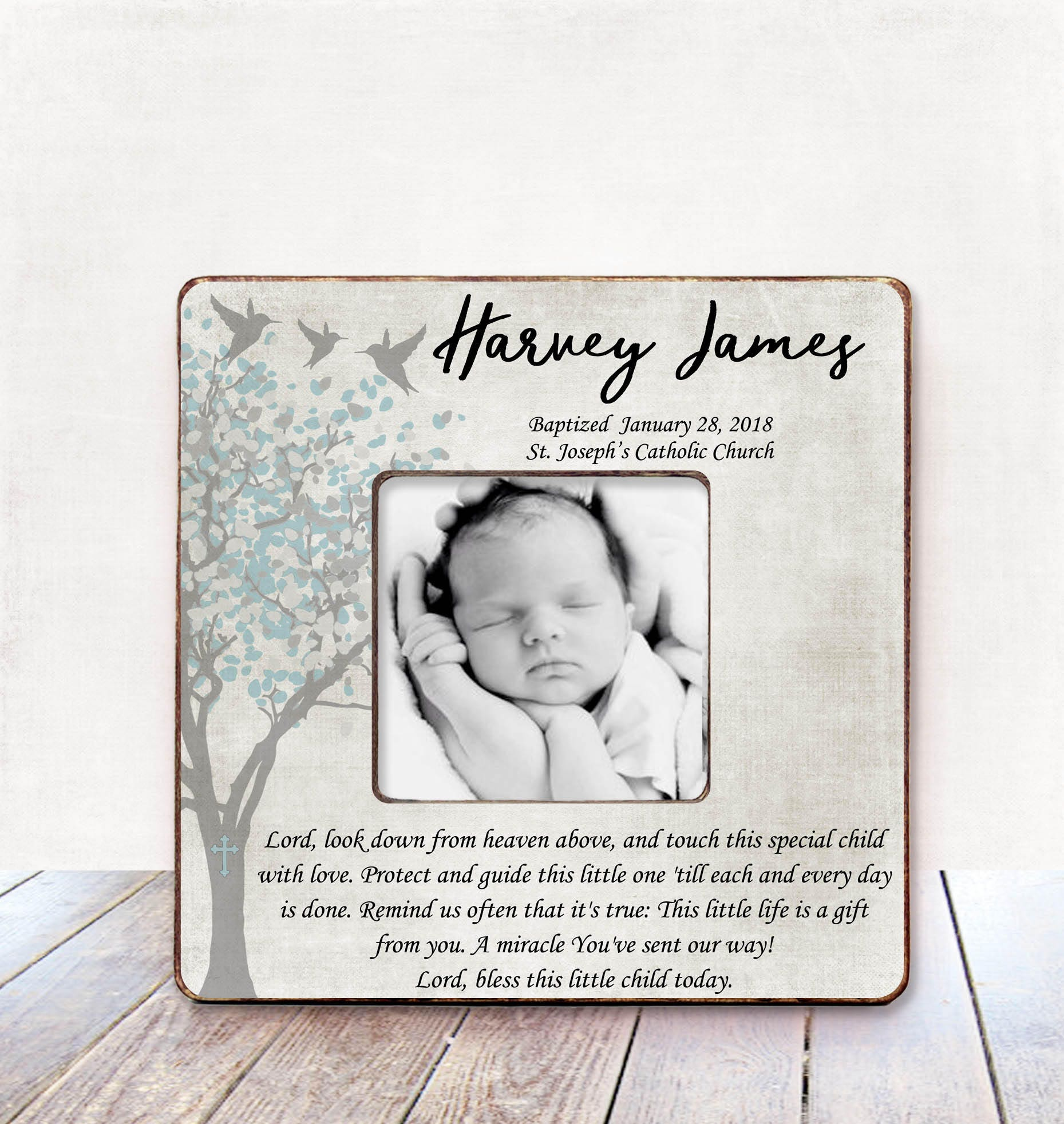 Gift from Godmother for Godson Christening Gift from