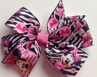 1 flower ribbon bow APPLIQUES