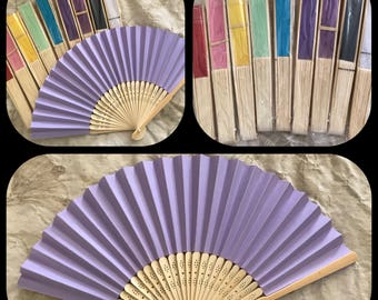 Folding Hand Fan~ Victorian Regency Style