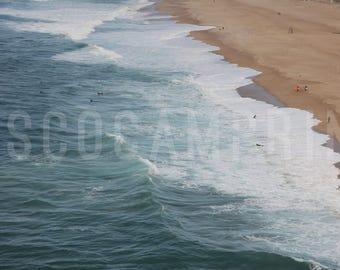 VSCOcam Inspired Art, Fine Art Photo Ocean, Trees, Fog, Royalty Free Stock Photo Instant Download, Digital Photo, Printable Art