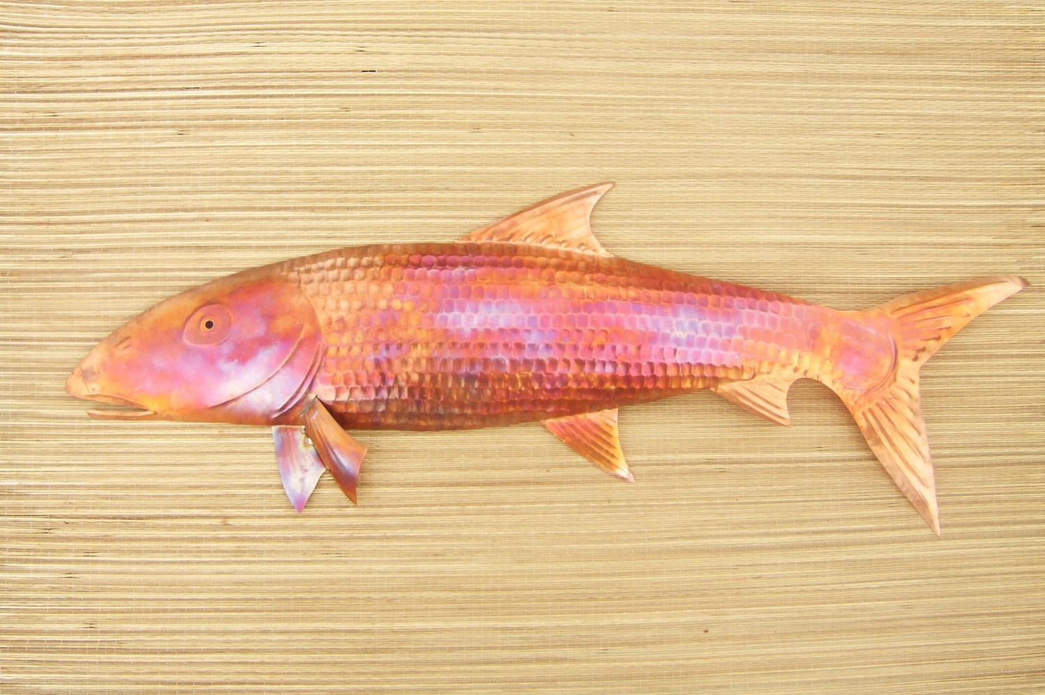 Copper Fish Wall Art Oio or Bonefish