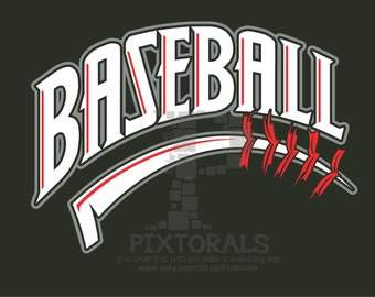 Baseball logo, JPG, PNG and EPS formats as Vector, Baseball, Baseball Laces