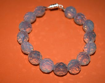 Light Blue shiny bracelet