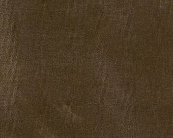 BROWN STONE Waxed Canvas | swatch