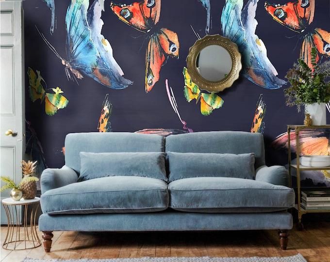 Butterflies Wallpaper - Watercolor butterflies Wallpaper - Watercolor Wallpaper