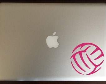 Volleyball Computer Decal Laptop Sticker