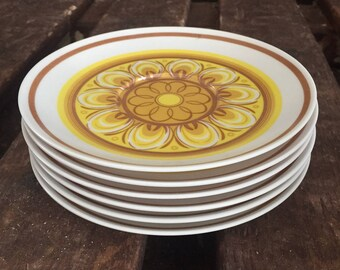 Vintage Maplex (melamine) Plates (set of 6)