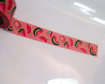 Pink Watermelon Summer Washi Recollections