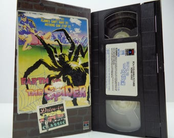 Earth vs the spider VHS Tape