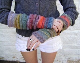 Arm Warmers Knitting Pattern - Especially Written for the Beginner