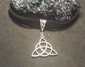 Velvet choker  wicca triquetra  wiccan jewelry  pagan jewelry