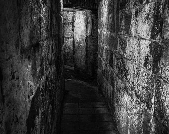 Castle Armory, Irish Photography, Northern Ireland, Carrickfergus Castle, Black and white photography, Medieval Castle, Irish Castle