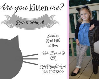 Kitty Party Invitation *Digital File Only*