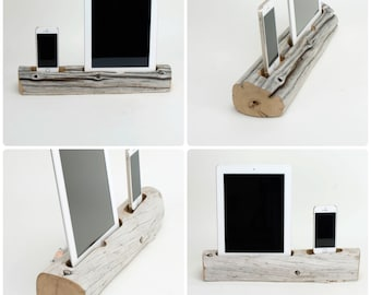 Driftwood Dock for a Combination of Devices
