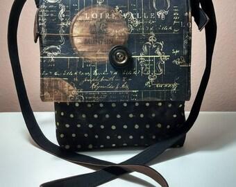 Wine Cask Mini Messenger Bag